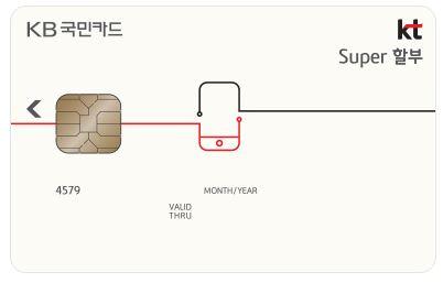 KB국민 KT할인카드