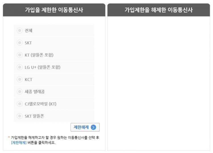 의도용방지 서비스 엠세이퍼3